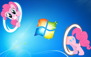 Pinkie Pie wallpaper - portal by nestordc