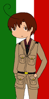 Hetalia Romano by angel-clan