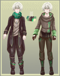 :Comm: outfits for Xavier by BlackMayo