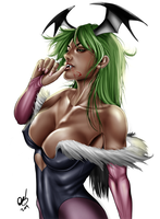 Morrigan by BornTewSlow