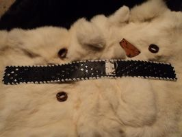 Leather collar by LeTrefle