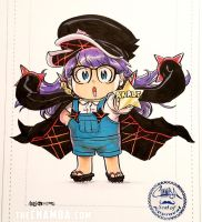 2 Star Goku Uniform Arale-chan by theCHAMBA