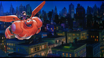 Sora meets Big Hero 6 - Hiro and Baymax's flight by Iscreamer1