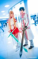 Asuna and Kirito 10 by AmethystPrince