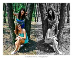 Sylwia and Paulina10 by ElizaKPhotography