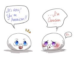 APH - Two American Mochis? by Hetalia-Canada-DJ