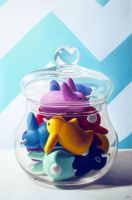 Jar of Labbits by JessicaEdwards