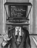 Obama Mar 24 News Conference by comichelle