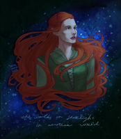 Tauriel by Bonequisha