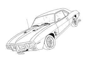 Pontiac Firebird by gjones1