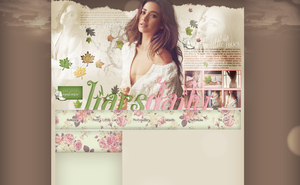 Ordered layout with Shay Mitchell by redesignbea