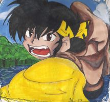 Ryoga, The Eternally Lost Boy by Jedi-With-Wings