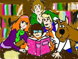 Scooby and The Gang by gPrincessofDarknessf