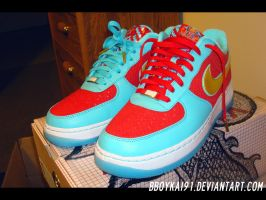 Nike Air Force 1 'YOTD II' 6 by BBoyKai91