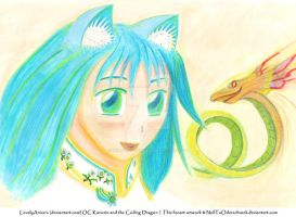 LovelyAnise's OC Kanorin and the Coiling Dragon by NeilTuOderschvank