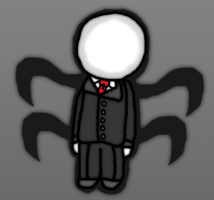 Slender man the chibi  Friday the 13th by thegamingdrawer