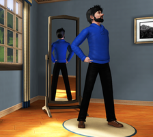 Haddock in the Sims 3 by Mii-riam