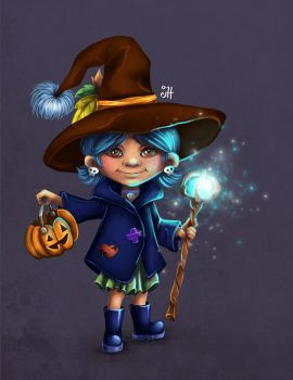 Little Witch by AsyaNor