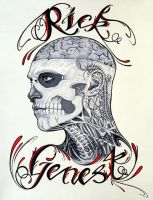 Rick Genest- Profile 15 by GeeFreak