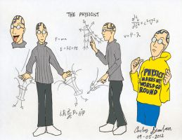 The Physicist by WibbitGuy