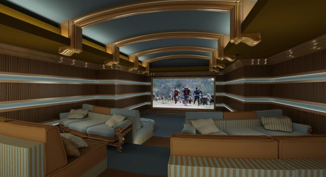 newest cinema room by gokiyan