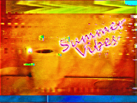 Summer Vibes 80's 1 by HectiColor