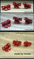 Bow Fimo by Ivonea