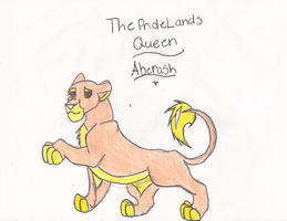 The Queen Of the PrideLands Aberash by wasfight17