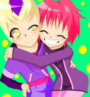 Odd and Aelita [**UPDATED**] by xKittyAye