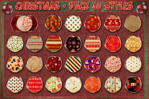 Christmas   Styles Pack  by Photos-Loutche