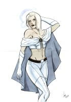Emma Frost by Miclix0458