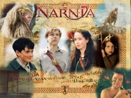 Chronicals of Narnia Wallpaper by Ciara06