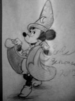 Mickey The Sorcerer by lukegiant15