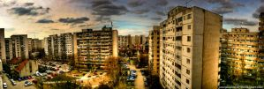Iancului Panoramic HDR by ScorpionEntity