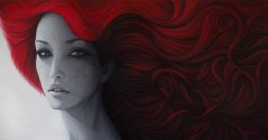 50 Shades of Passion - oil painting by borda