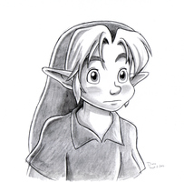 Young Link-Bewildered by BlueLink