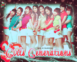 girls generation banner by FallenCrown