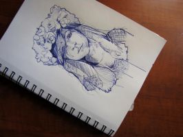 Flowers Girl - Unofficial picture by Marievarp