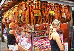 The Meat Stall by Estruda