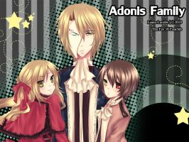 :: Adonis Family :: Thx by Linea-Lucifer