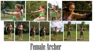 Female Archer by syccas-stock
