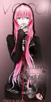 Megurine Luka - Vocaloid by jonatking