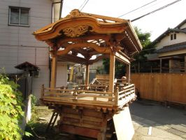 portable shrine/float framework by Keitaro-K