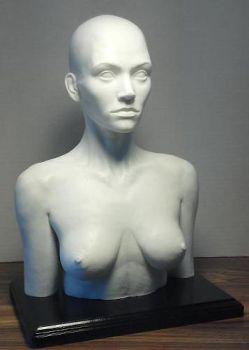 1/2 Scale Female Sculpting Maquette by propsculptor