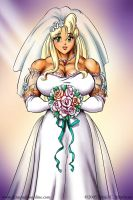 Tetsuko's Wedding Day by DavidCMatthews