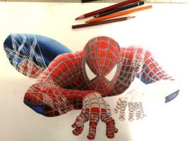 Spiderman Unfinish by Nathanm4