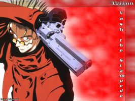 Vash-Trigun by saiyanprincessx