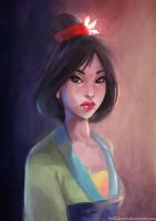 Mulan by JowieL