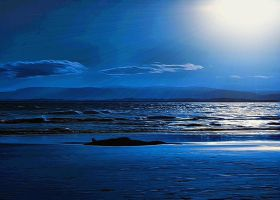 Shining Through The Blue by montag451