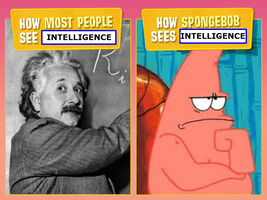How Most People and Spongebob See...Intelligence by 4xEyes1987